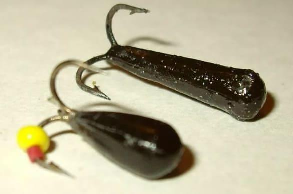 Безнасадочные мормышки для зимней рыбалки: рыбалка на чертика