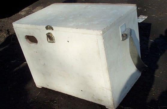 Ящик для зимней рыбалки своими руками пенопласт