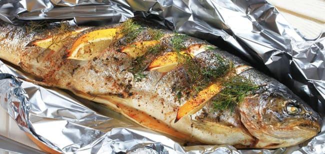 Как приготовить рыбу в духовке без масла