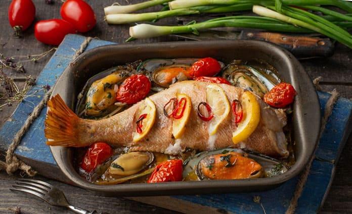 Морской окунь как вкусно приготовить в духовке