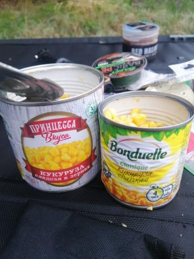 кукуруза для рыбалки Бондюэль